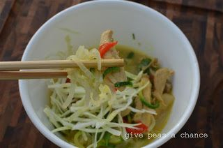 "Curry ""Noodle"" Bowl | Food! | Pinterest"