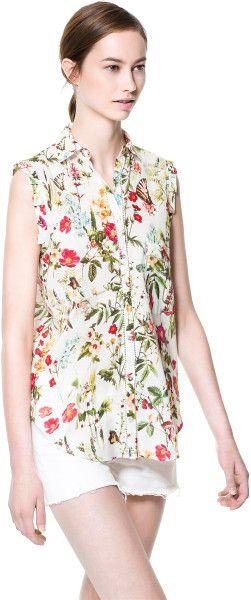Zara Floral Blouse 75