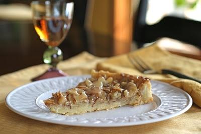 The Italian Dish: Almond Tart | Desserts | Pinterest