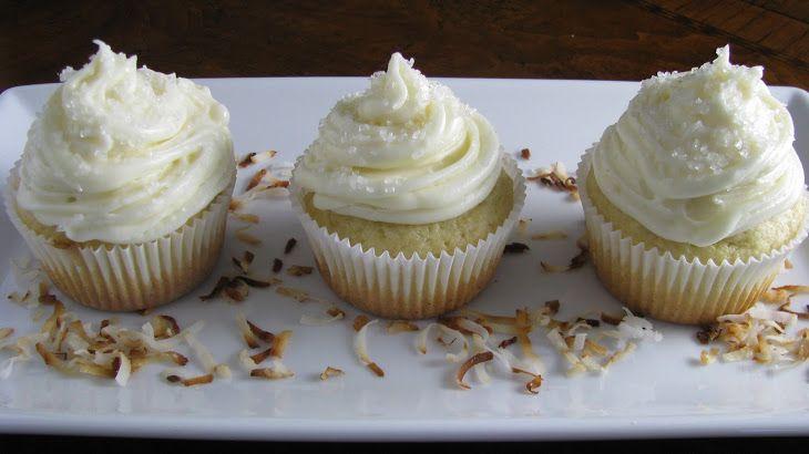 Coconut Rum Cupcakes | Gourmet Cupcake Recipes | Pinterest