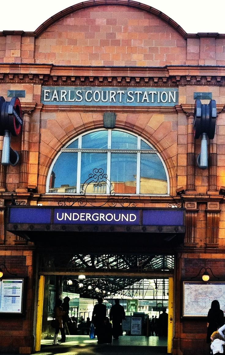 earl s court station london favorite trips pinterest. Black Bedroom Furniture Sets. Home Design Ideas