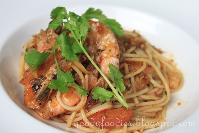 Tom Yum Grilled Shrimp Recipe — Dishmaps