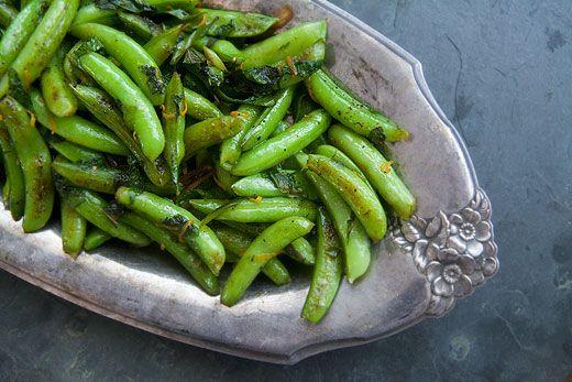 Seared Sugar Snap Peas | Recipe