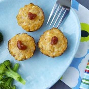 Chicken Parmesan Meatloaf Bites | Yummy | Pinterest
