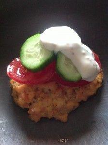 Paleo Salmon Burgers with Dill Tartar Sauce