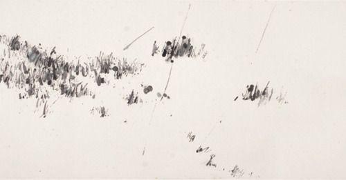Yan Shanchun, Untitled, ink on paper