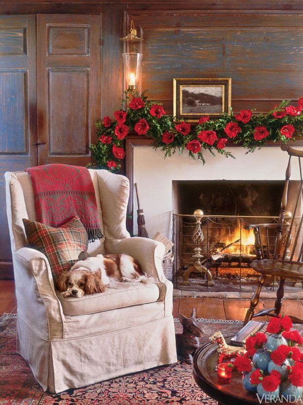 Holiday Decor In Veranda Chestnuts Roasting On An Open Fire Pinterest