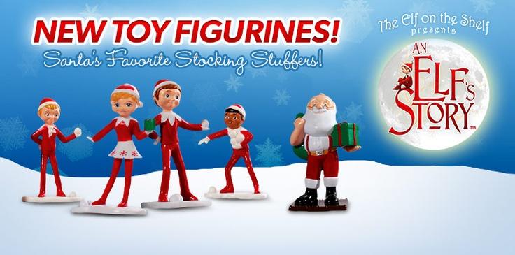 An Elf Story Figures Elf On A Shelf Pinterest