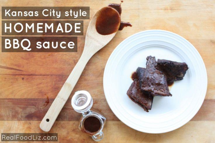 Kansas City style homemade BBQ sauce - Good Food For Bad Cooks