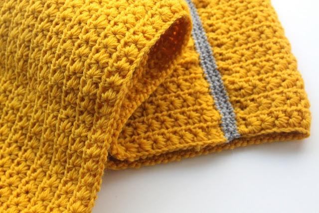 Crochet Scarf - Star Stitch knitting/crochet Pinterest