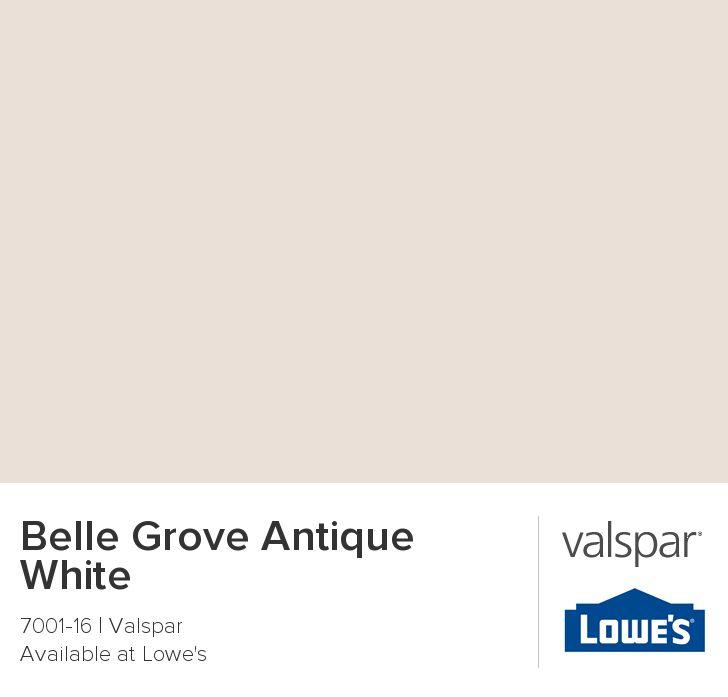 Belle Grove Antique White From Valspar Paint Colors Pinterest