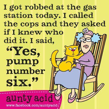 Lets Laugh: Aunty Acid