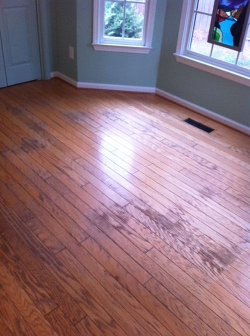 How To Paint Bad Hardwood Flooring Painted New Pinterest