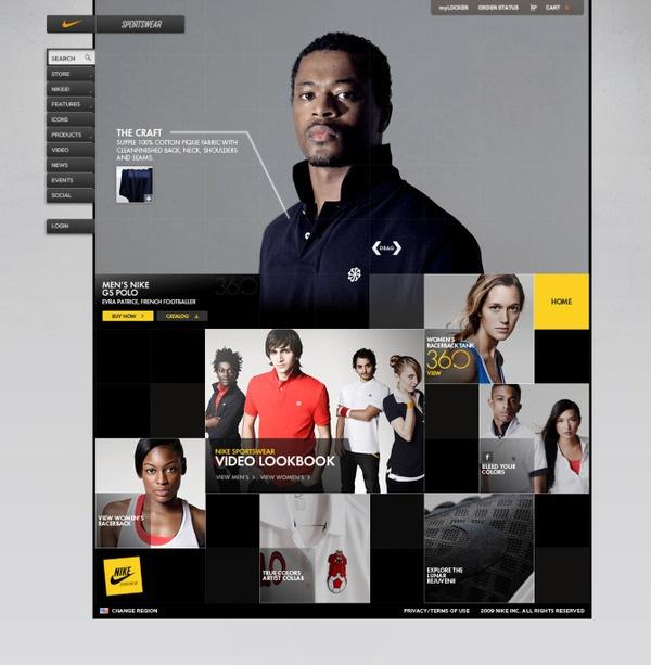 Nike Sportswear Summer '10 (GS Polo) by Brad Burke, via Behance
