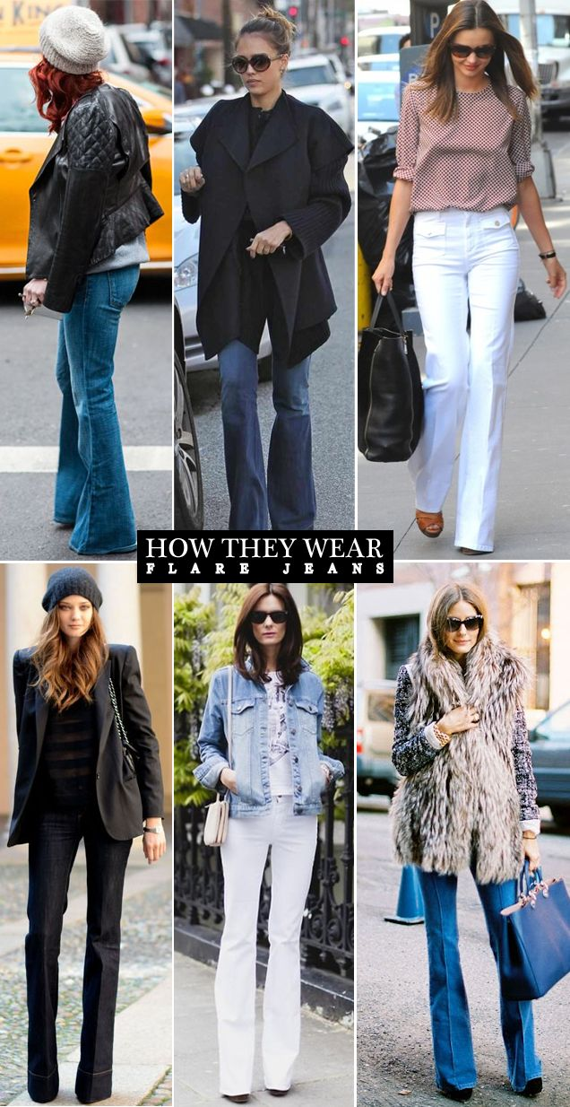 flare jeans...