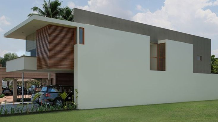 Casa moderna estilo minimalista arquitectura pinterest - Estilos de casas modernas ...