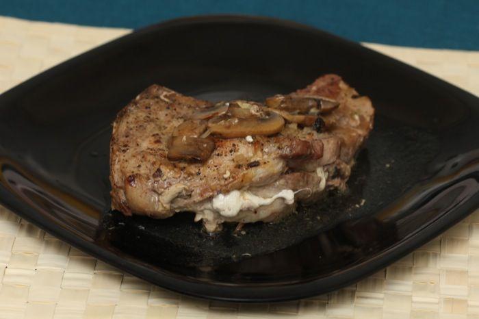 Stuffed Pork Chops Plated III | Low Carb Recipes | Pinterest