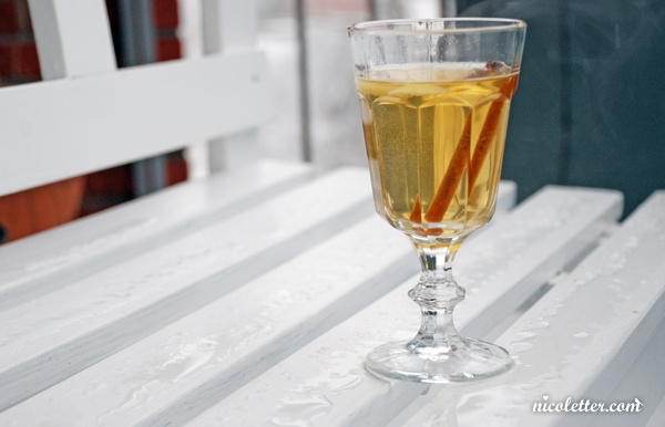 white mulled wine | Foodie | Pinterest