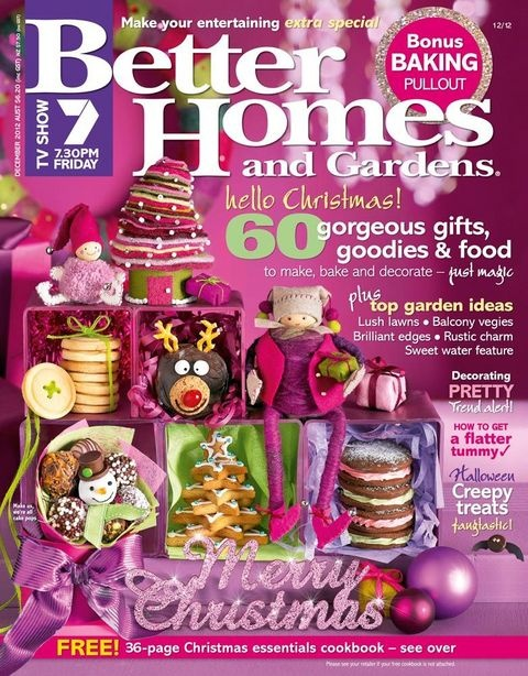 Better homes and gardens magazine december issue Yahoo better homes and gardens