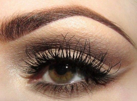 brown bronze eyes makeup