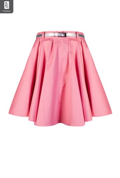 Ladies Belted Skater Skirt | Skirts | My Mr Price Fashion | Pinterest