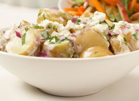 ... your BBQ >> Warm Potato Salad with Goat Cheese | PCC Natural Markets