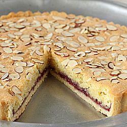 Italian Almond Raspberry Tart | Sweets | Pinterest