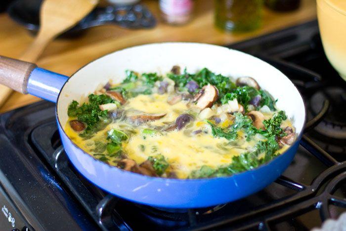 Easy Vegetable Frittata | Food | Pinterest