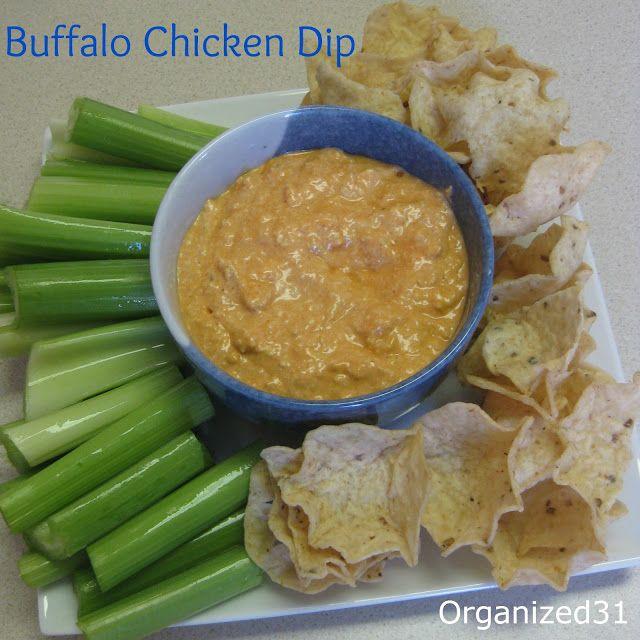 Buffalo Chicken Dip | cooking | Pinterest