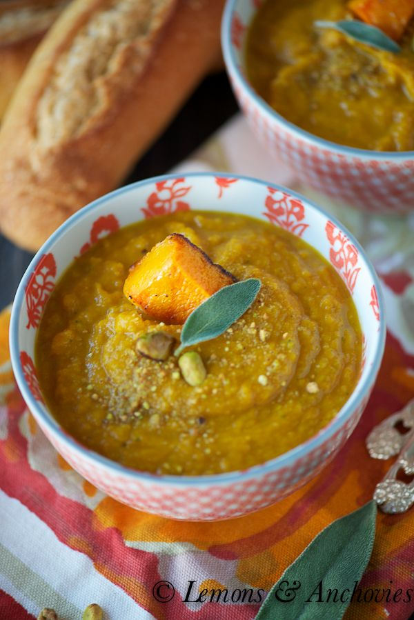 Roasted Butternut Squash Soup | Whole food meals that love you back ...