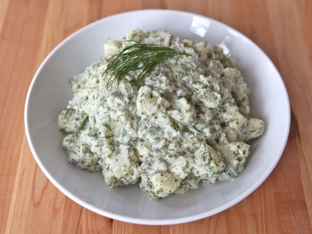 Potato Salad with Dill and Dijon -- This is delicious! It is also ...
