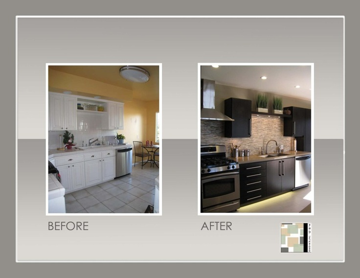 Before And After Kitchen Remodels Decor Magnificent Decorating Inspiration