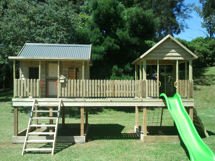 Dog Backyard Playground Equipment : compagesCubbyHousesDogKennelsandMUCHMOREByDFROutdoor