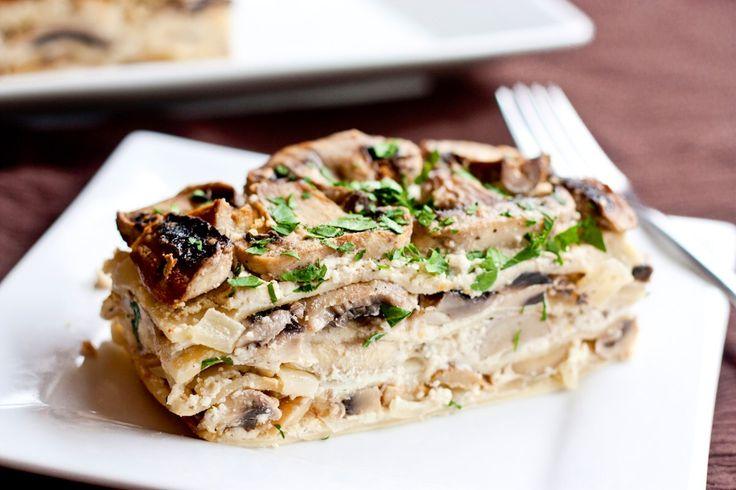 Mushroom lasagna | Recipe