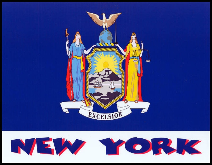 new york city flag colors