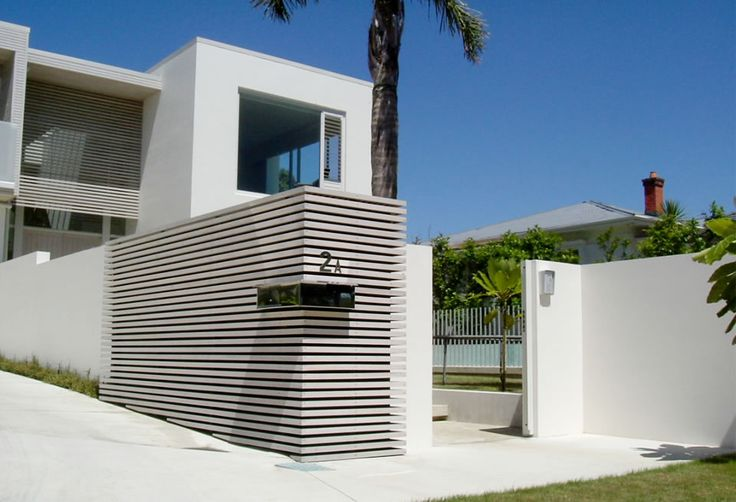 Front Boundary Wall Designs for Pinterest