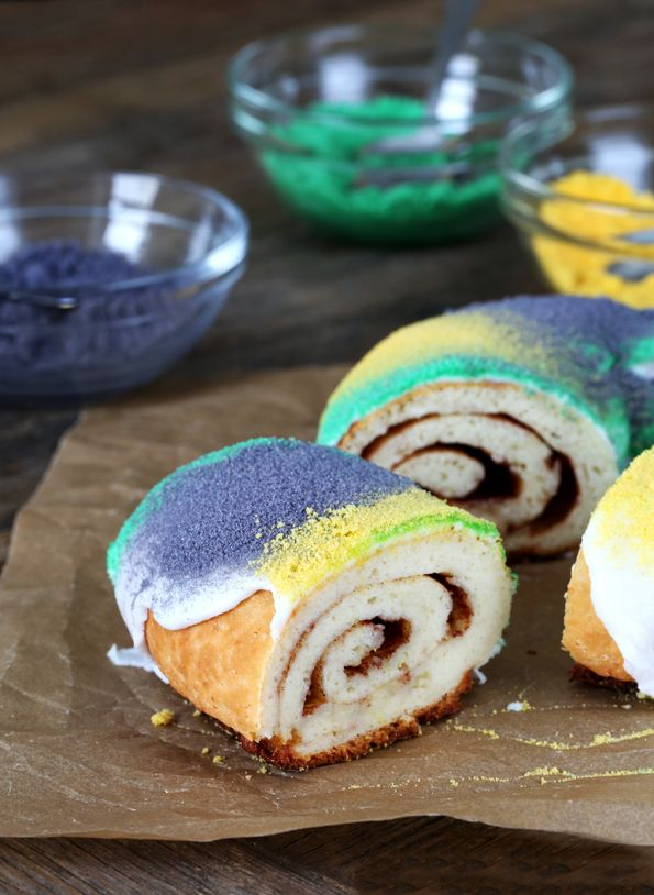 Gluten Free King Cake by Gluten Free on a Shoestring