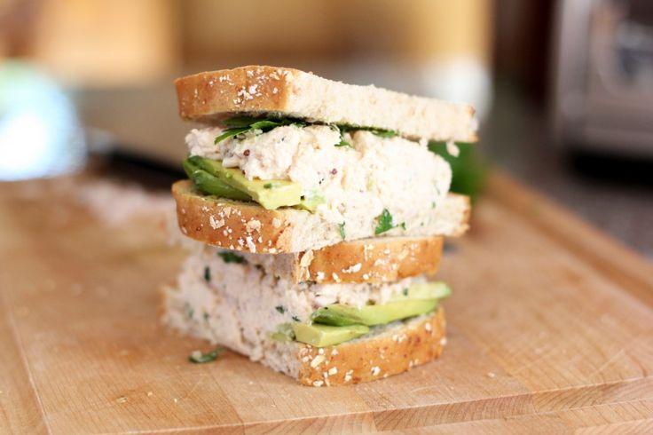 Tarragon Shallot Egg Salad Sandwiches Recipe — Dishmaps