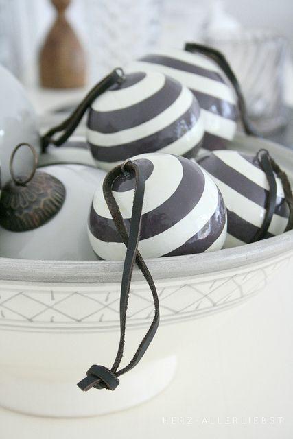 Loving black and white stripes