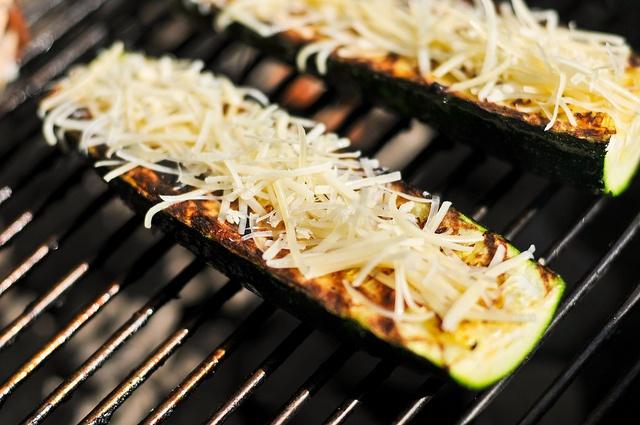Zucchini with Parmesan and Garlic Chili Oil   Recipe