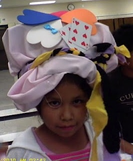 Great hats made from large paper bags. Kids love making these!