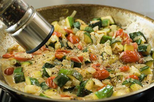 Farfalle with Zucchini   Recipe
