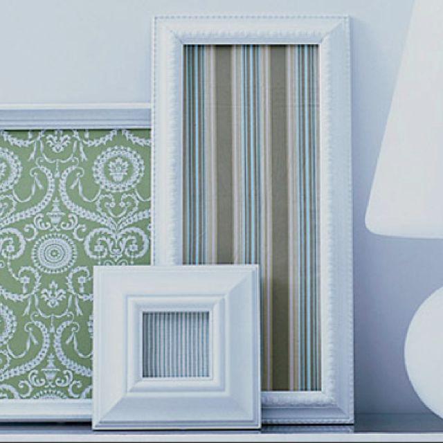 Diy Fabric Wall Art Pinterest : Framed fabric diy wall art