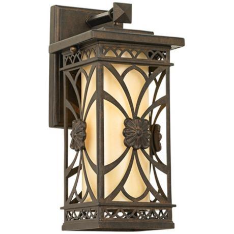john timberland montecito 13 3 4 high outdoor wall light. Black Bedroom Furniture Sets. Home Design Ideas