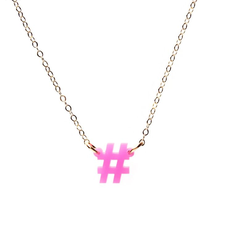 Mini Social Necklace by Moon and Lola | Charm & Chain