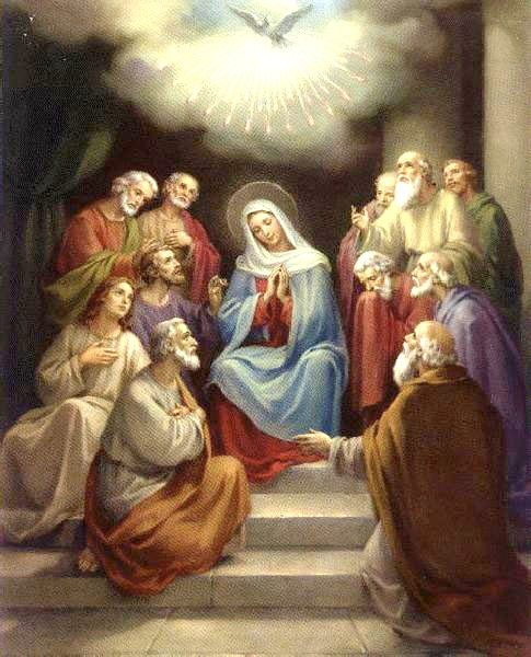 descent of the holy spirit all things catholic pinterest