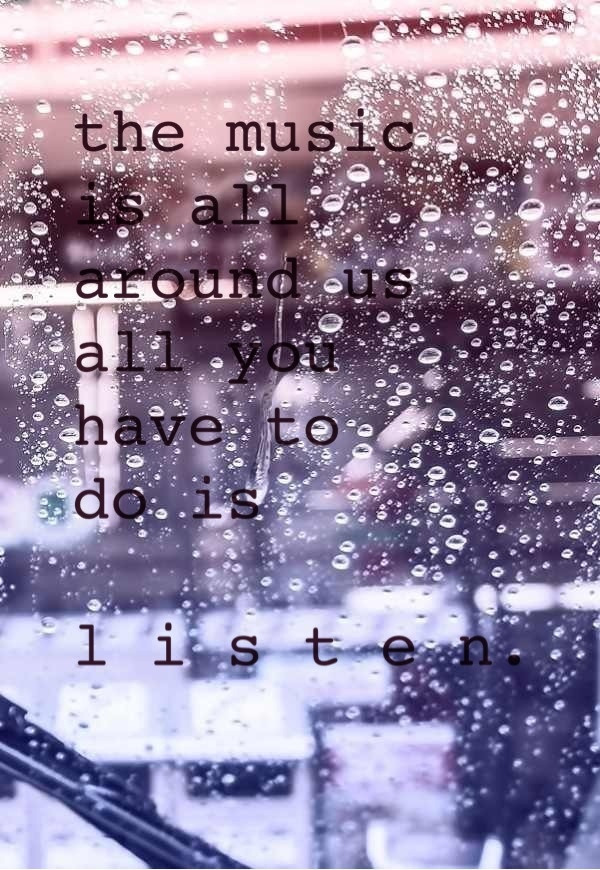 August Rush quote  I Support Live Music....  Pinterest