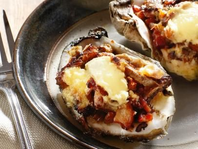 Baked Oysters With Wild Mushroom Ragout   Recipe