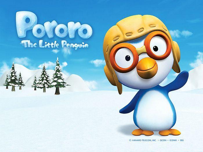 Pororo, the Korean penguin