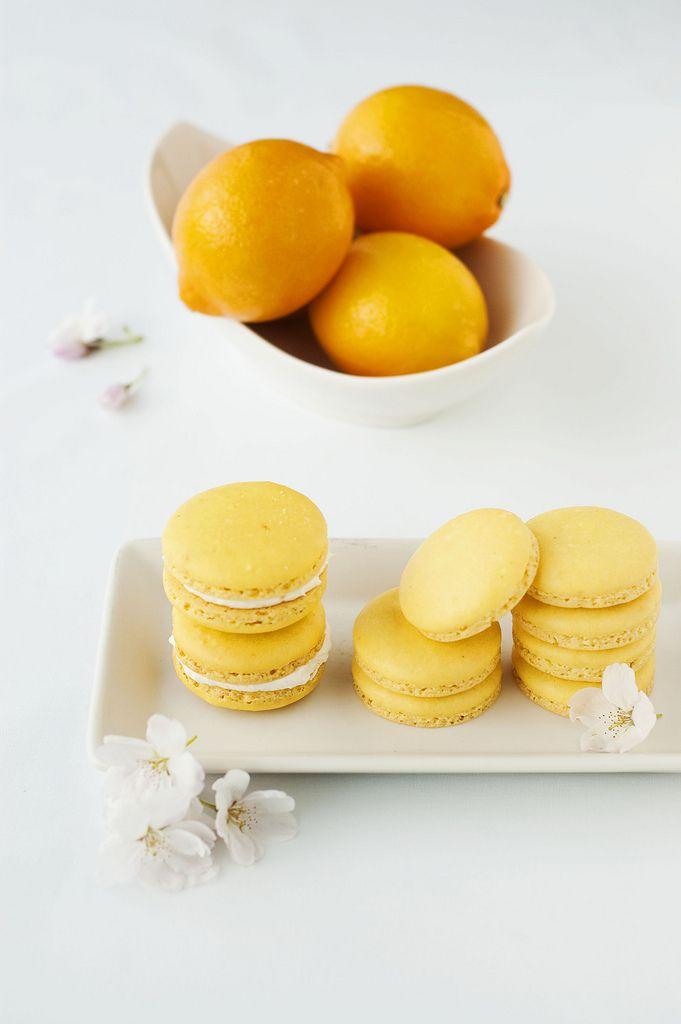 meyer lemon macaroons | Event Ideas | Pinterest